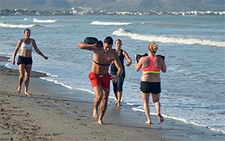Träningsresa - kombinera träning med semester