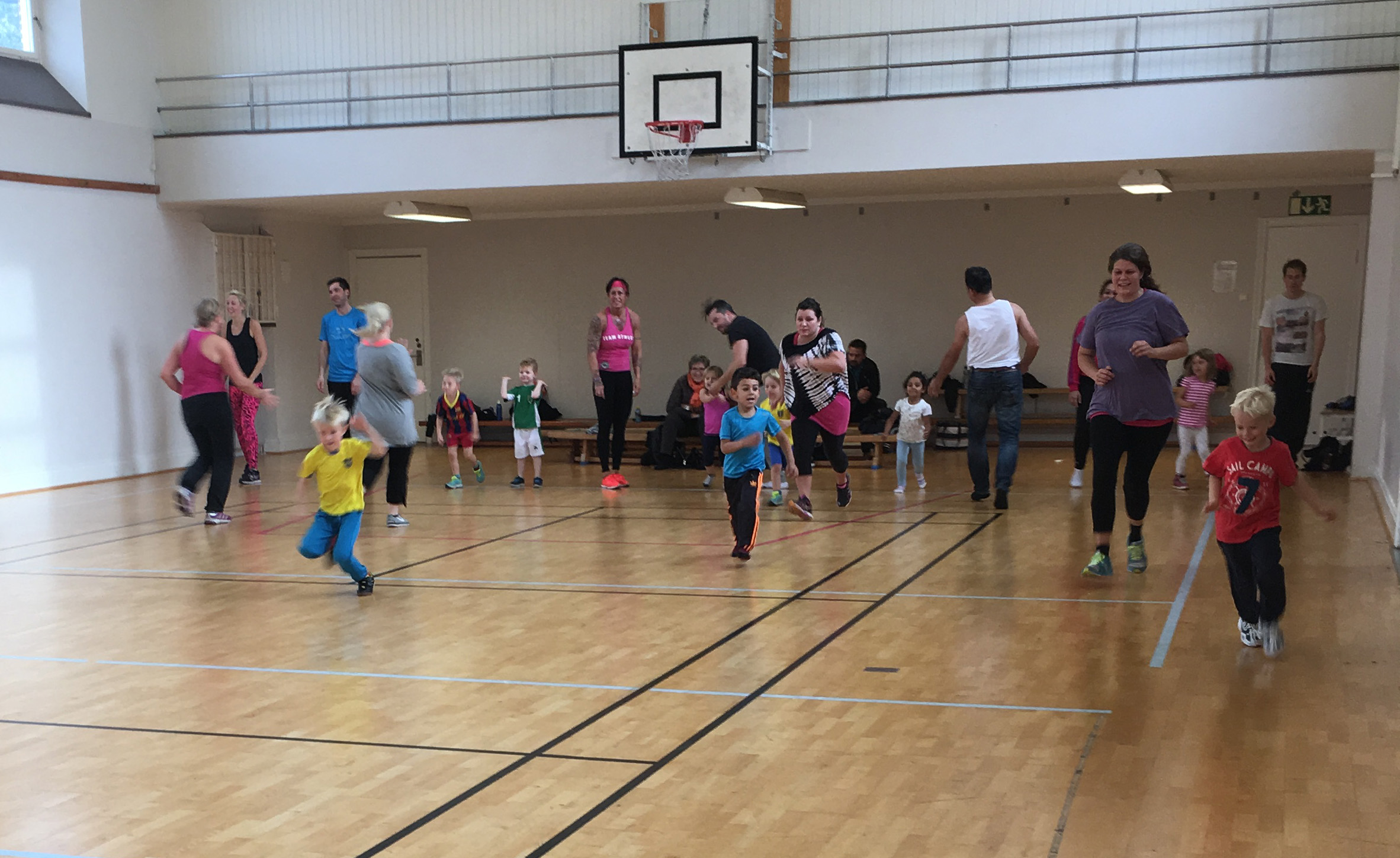 Aktivitet för barn 4-6 år och föräldrar