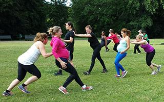 Gravidträning - både gruppträning och personlig träning