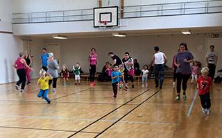 Superskutt - rolig träning för barn och föräldrar tillsammans